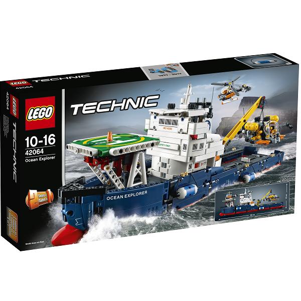 Image of   Forskningsskib - 42064 - LEGO Technic