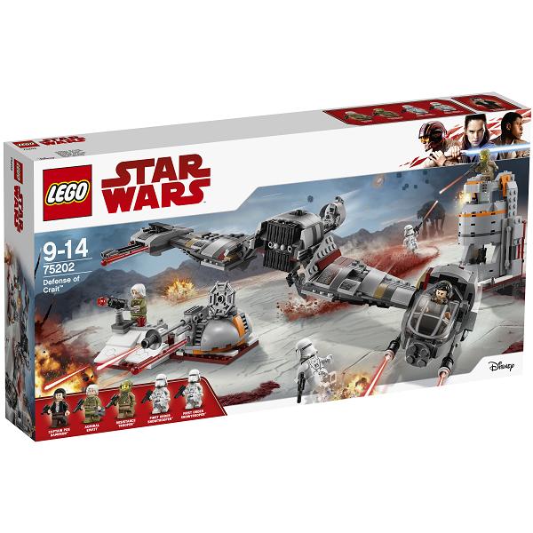 Image of   Forsvaret af Crait - 75202 - LEGO Star Wars