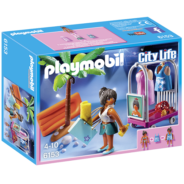 Image of Fotosession på stranden - PL6153 - PLAYMOBIL City Life (PL6153)