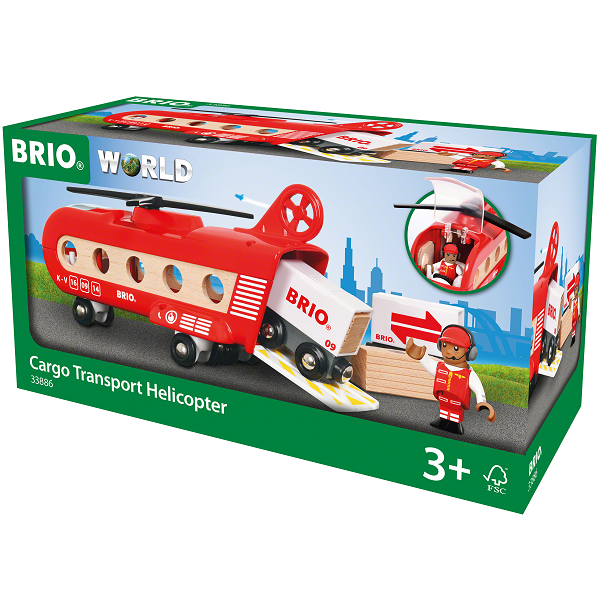 Fragthelikopter - BRIO