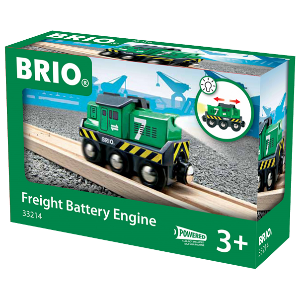 Fragtlokomotiv, batteridrevet - BRIO