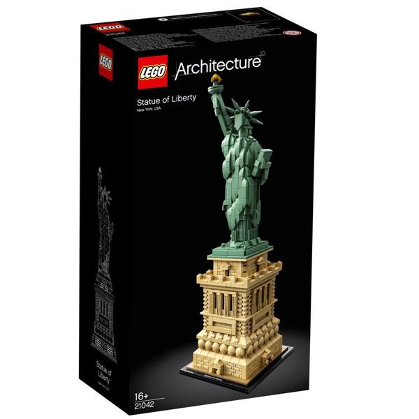 Image of Frihedsgudinden - 21042 - LEGO Architecture (21042)