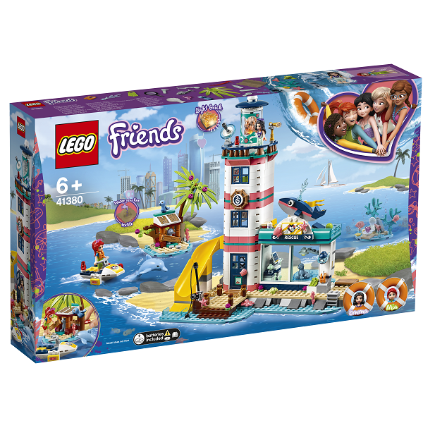 Image of   Fyrtårn med redningscenter - 41380 - LEGO Friends