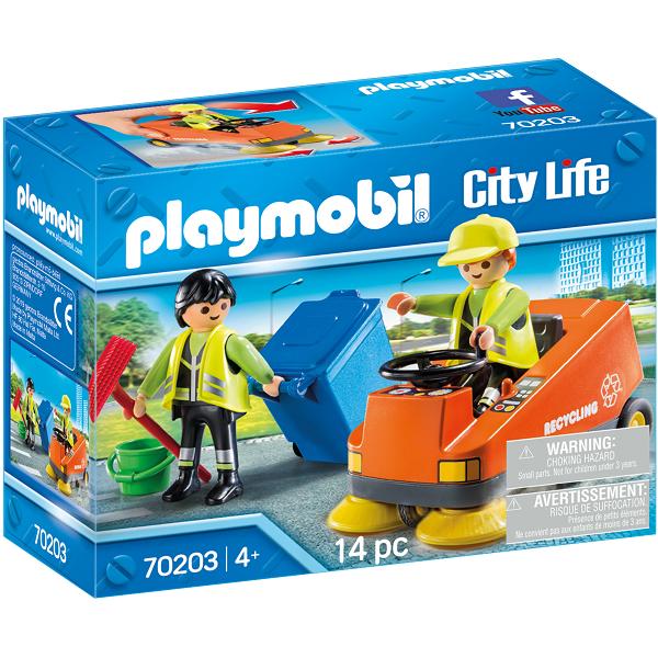 Image of   Gadefejer - PL70203 - PLAYMOBIL City Life
