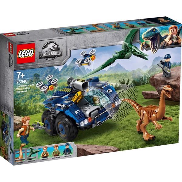 Image of Gallimimus og pteranodon-flugt - 75940 - LEGO Jurassic World (75940)