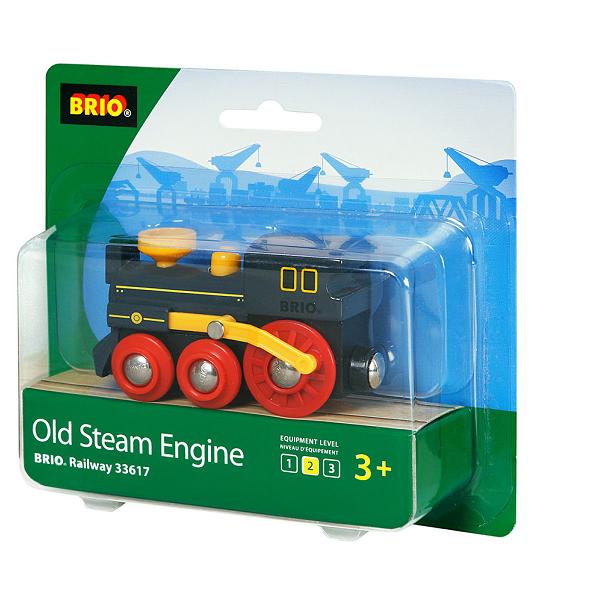 Gammelt damplokomotiv - 33617 - BRIO Tog