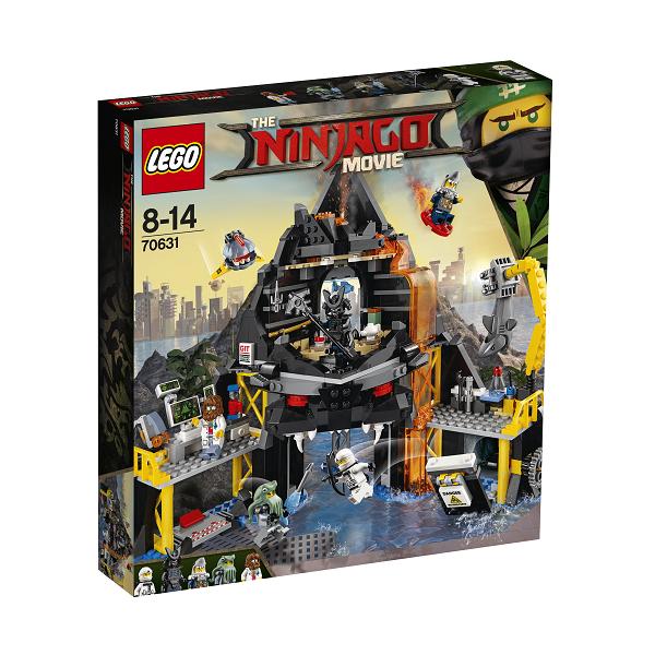 Garmadons vulkan-tilholdssted - 70631 - LEGO Ninjago