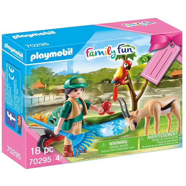 "Image of Gavesæt ""Zoo"" - PL70295 - PLAYMOBIL Family Fun (PL70295)"