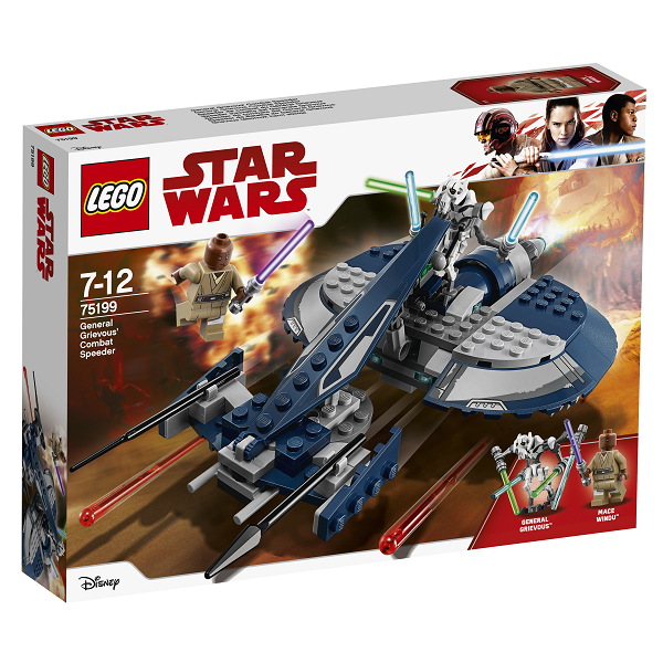 Image of   General Grievous kampspeeder - 75199 - LEGO Star Wars