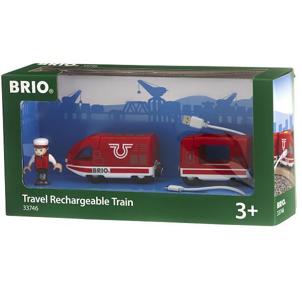 Genopladeligt tog, via USB - 33746 - BRIO Tog