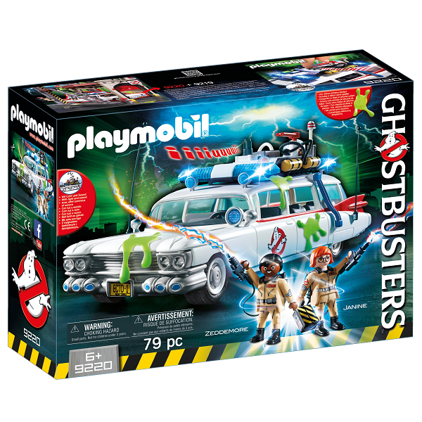 Image of Ghostbusters Ecto-1 - 9220 - PLAYMOBIL Ghostbusters (PL9220)