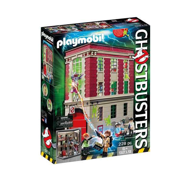 Image of Ghostbusters brandstation - 9219 - PLAYMOBIL Ghostbusters (PL9219)