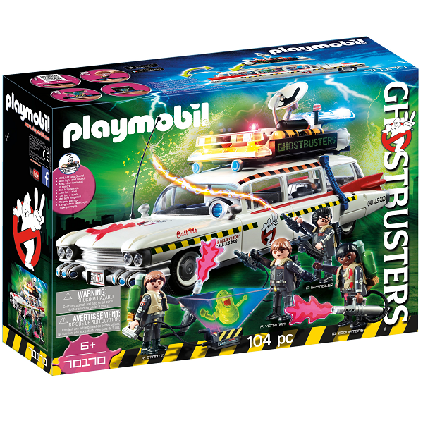 Image of Ghostbusters Ecto-1A - PL70170 - PLAYMOBIL Ghostbusters (PL70170)