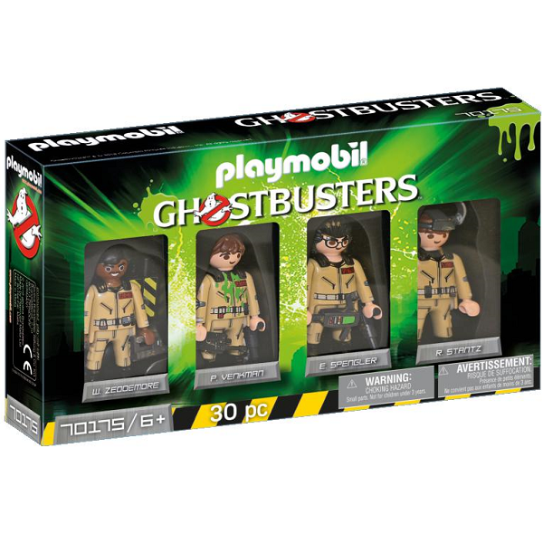 Image of Ghostbusters Figursæt - PL70175 - PLAYMOBIL Ghostbusters (PL70175)