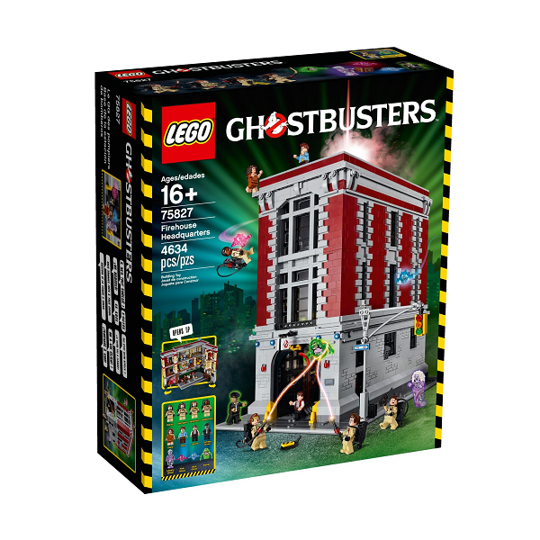 Ghostbusters Fire House - 75827 - LEGO Exclusive