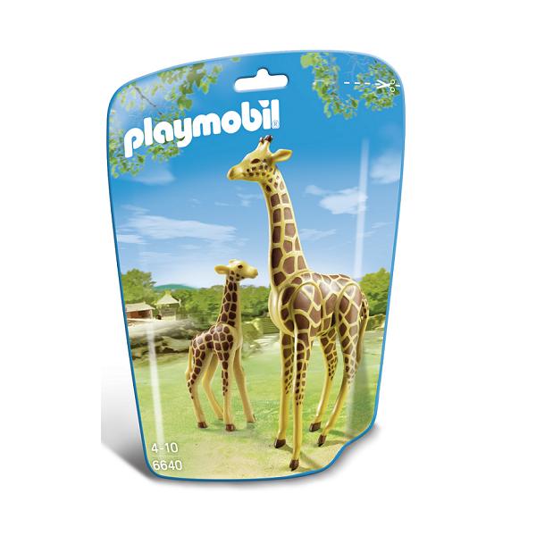 Image of Giraf med unge - PL6640 - PLAYMOBIL Wild Life (PL6640)