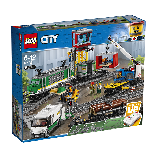 Image of Godstog - 60198 - LEGO City (60198)
