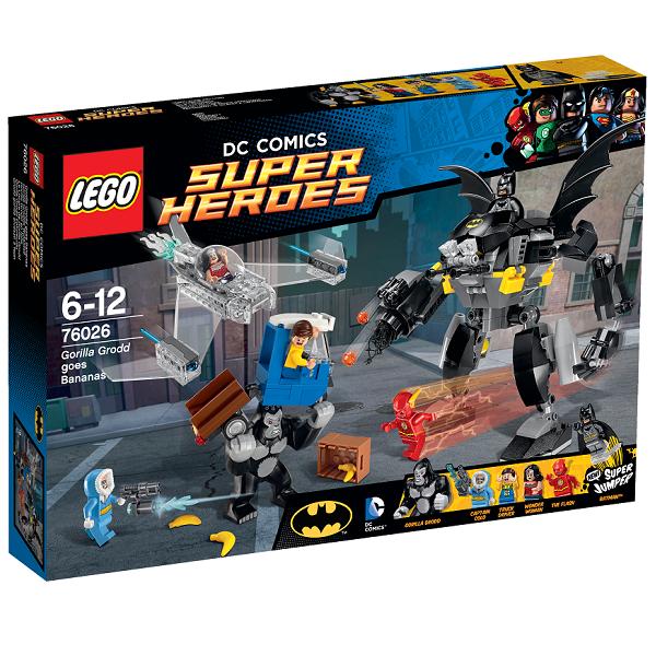 Gorillaen Grodd går bananas - 76026 - LEGO Super Heroes