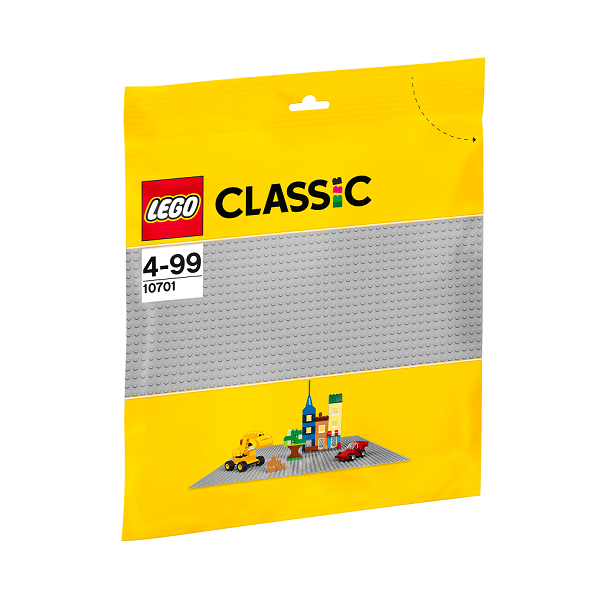 Image of Grå byggeplade - 10701 - LEGO Bricks &More (10701)