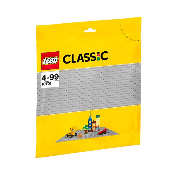 Grå byggeplade - 10701 - LEGO Bricks &More