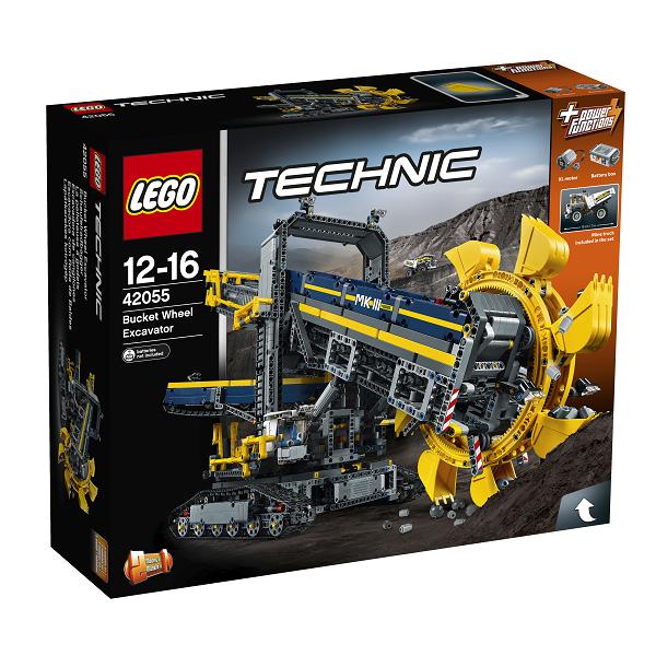 Image of   Gravemaskine med skovlhjul - 42055 - LEGO Technic