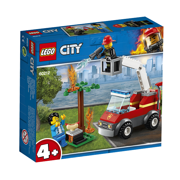 Image of   Grillbrand - 60212 - LEGO City