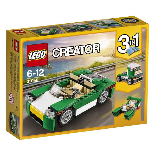 Image of Grøn cabriolet - 31056 - LEGO Creator (31056)
