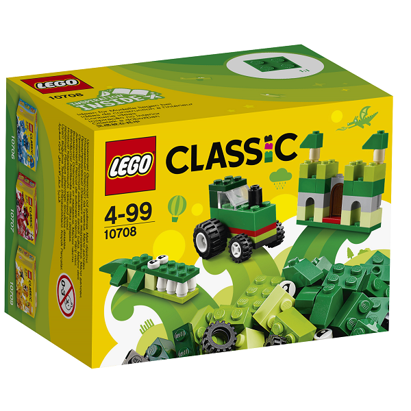 Image of Grønt kreativitetssæt - 10708 - LEGO Bricks & More (10708)