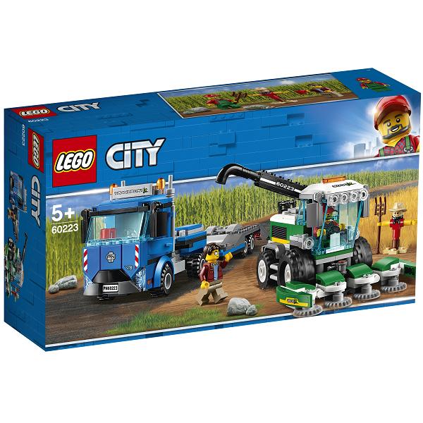 Image of Grønthøstertransport - 60223 - LEGO City (60223)
