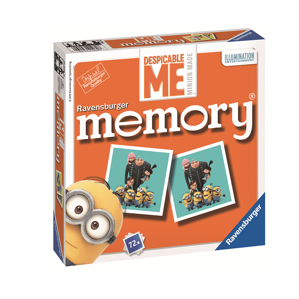 Image of   Grusomme mig memory - Fun & Games