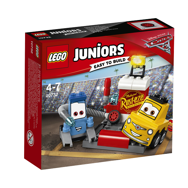 Image of Guido og Luigis pitstop - 10732 - LEGO Juniors (10732)