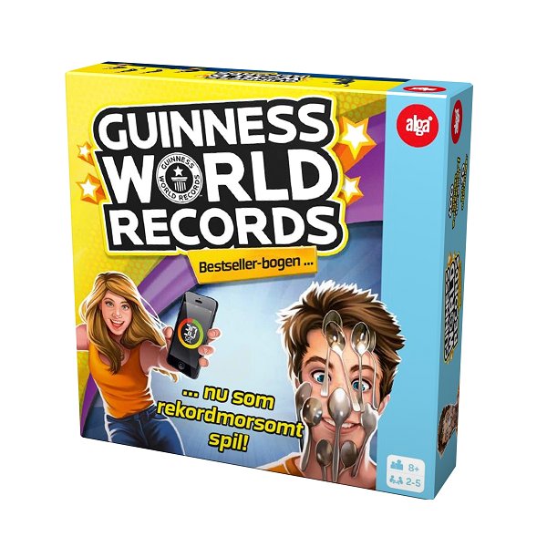 Image of Guinness World Records DK - Alga (38012462)