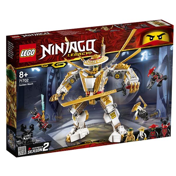 Image of   Gylden robot - 71702 - LEGO Ninjago