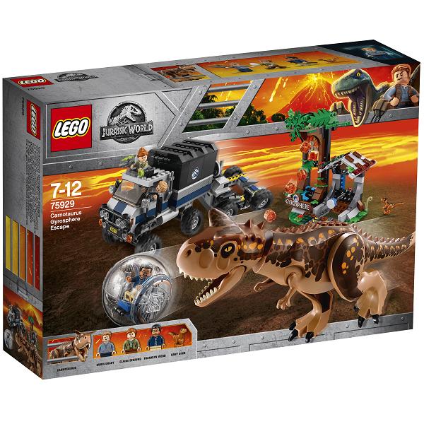 Gyrokugleflugt fra carnotaurus - 75929 - LEGO Jurassic World