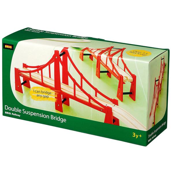 Hængebro, lang - 33683 - BRIO Tog
