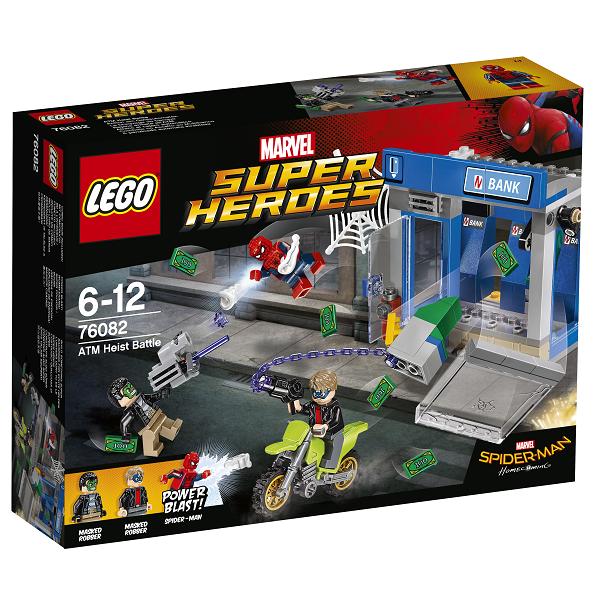 Image of   Hæveautomatrøveri - 76082 - LEGO Super Heroes
