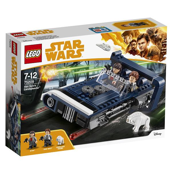 Image of   Han Solos landspeeder - 75209 - LEGO Star Wars