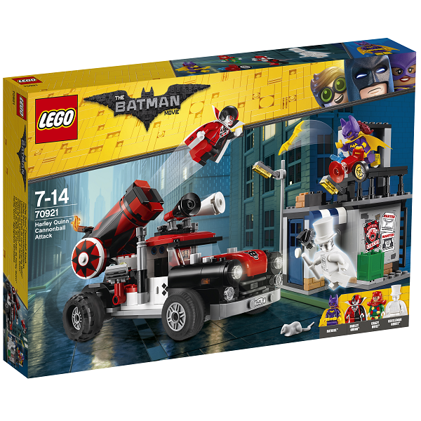 Image of   Harley Quinn kanonkugleangreb - 70921 - LEGO Batman Movie