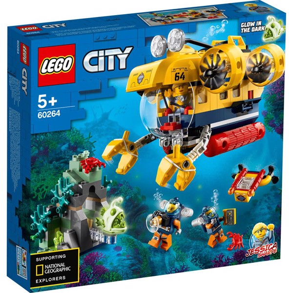Image of Havudforsknings-ubåd - 60264 - LEGO City (60264)