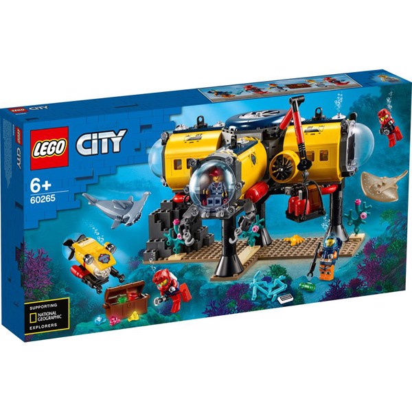 Image of Havudforskningsbase - 60265 - LEGO City (60265)