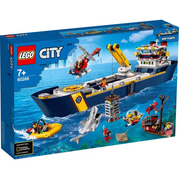 Image of Havudforskningsskib - 60266 - LEGO City (60266)