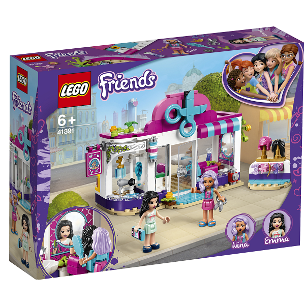 Image of   Heartlake frisørsalon - 41391 - LEGO Friends