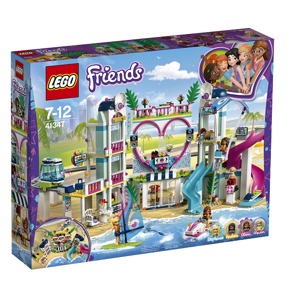 Image of   Heartlake feriecenter - 41347 - LEGO Friends