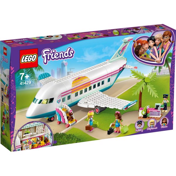 Image of Heartlake flyvemaskine - 41429 - LEGO Friends (41429)