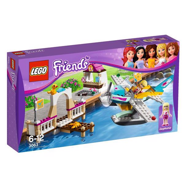 Image of   Heartlake flyveskole - 3063 - LEGO Friends