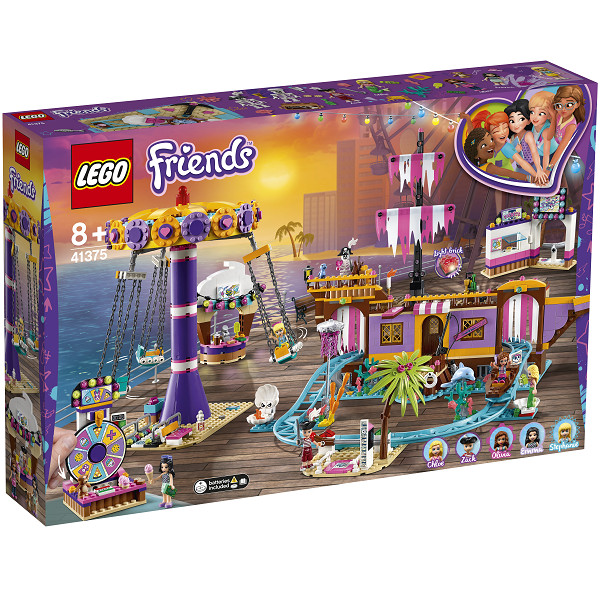 Image of   Heartlake forlystelsesmole - 41375 - LEGO Friends