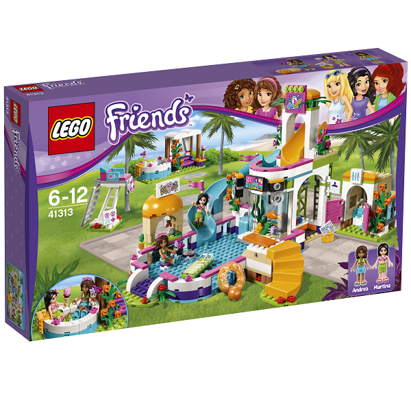 Image of   Heartlake friluftsbad - 41313 - LEGO Friends
