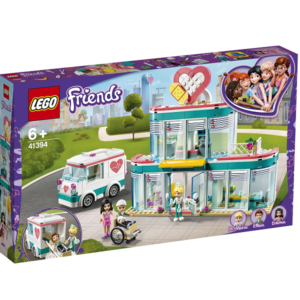 Image of   Heartlake hospital - 41394 - LEGO Friends