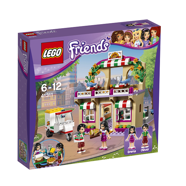 Image of Heartlake pizzeria - 41311 - LEGO Friends (41311)