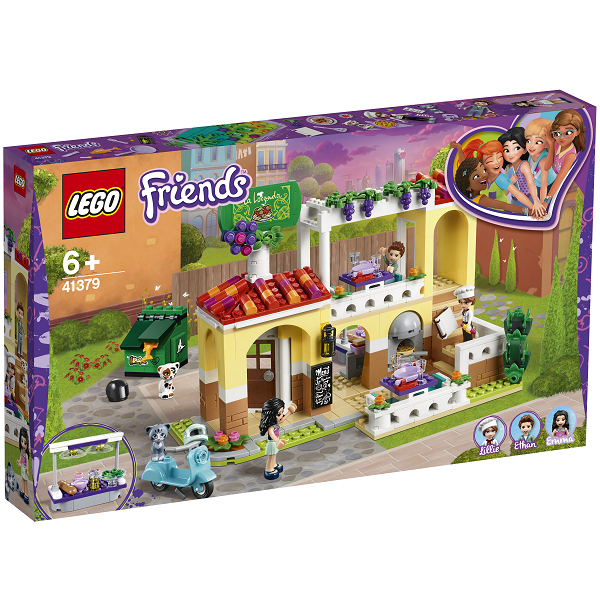 Image of   Heartlake restaurant - 41379 - LEGO Friends